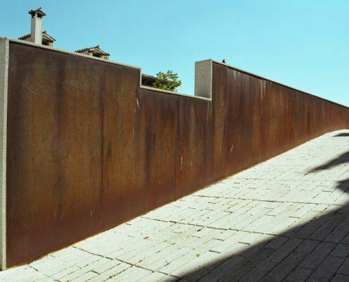 Forro muro iglesia Simancas